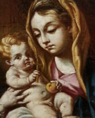 old-paintings-online-madonna-con-bambino-napoli (4)