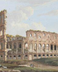 old-paintingsonline-coppia-gouache-vedute-romane (3)