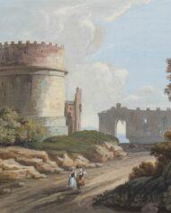 old-paintingsonline-coppia-gouache-vedute-romane (6)