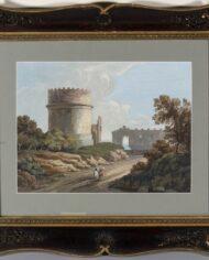 old-paintingsonline-coppia-gouache-vedute-romane (7)